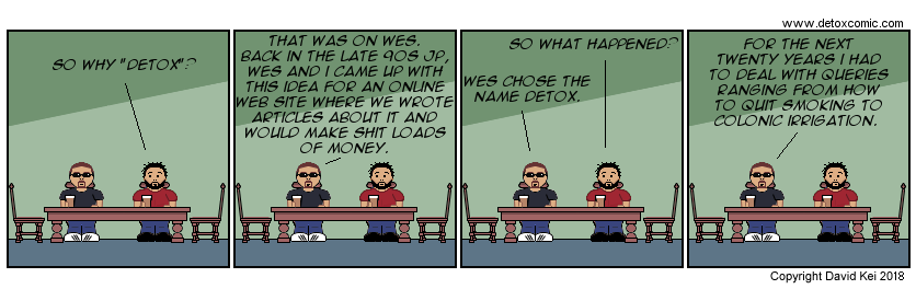 The latest detox comic web comic strip